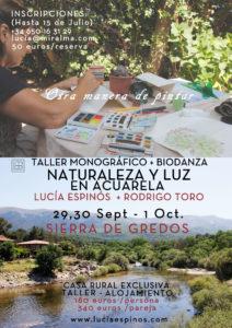 Cartel Monográfico + Biodanza_Sierra de gredos