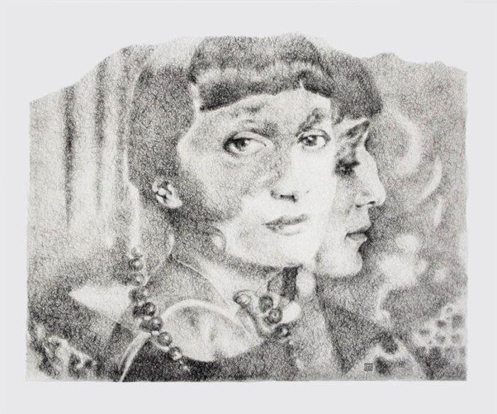 Anna Ajmátova | Cabeza dentro de Cabeza